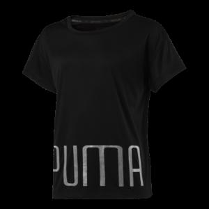 puma-jr-explosive-tee-851789-pige-t-shirt-sort